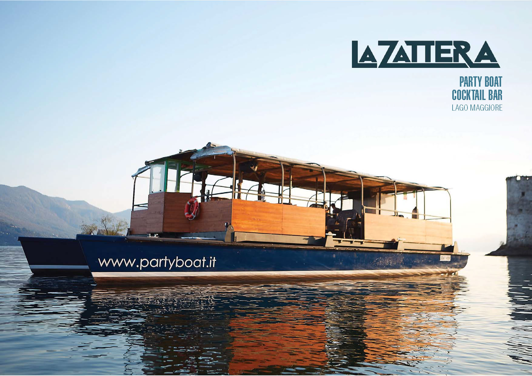 La Zattera ecopartyboat